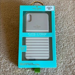 Kate Spade soft touch case for iPhone XS MAX